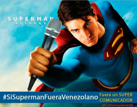imagen si superman fuera venezolano
