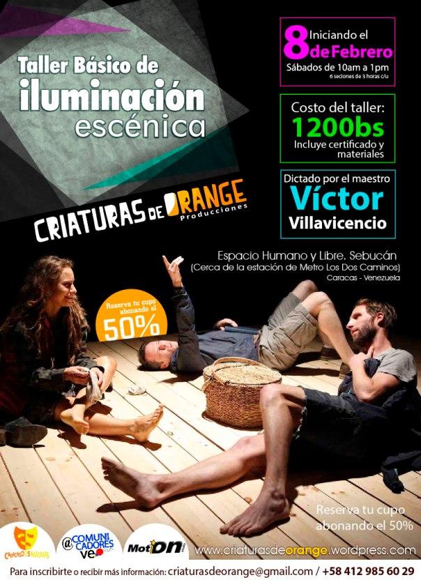 Iluminación con el Maestro Víctor Villavicencio