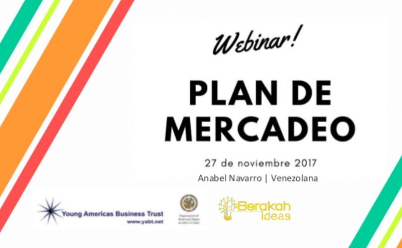 Plan de Mercadeo webinar YABT yOEA