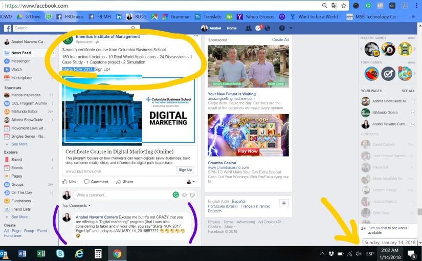"""Redes Sociales ¿automatizadas? y cambios """"más humanos"""" de Facebook eIG"""