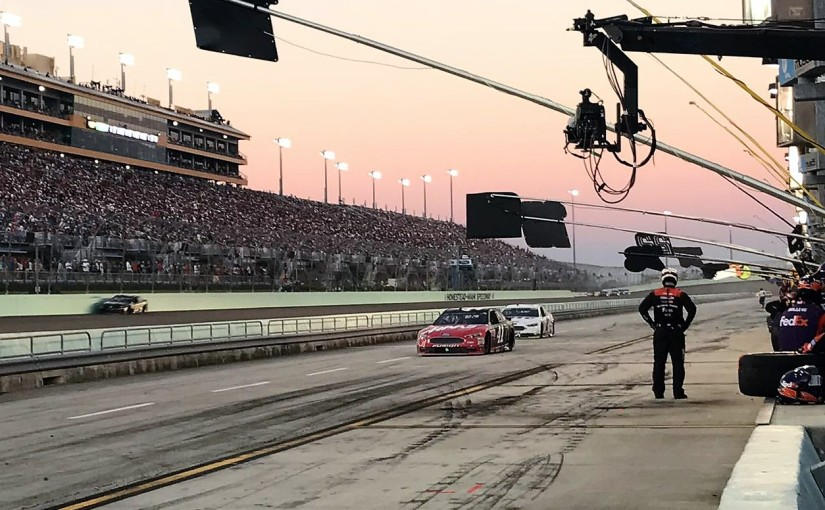 A toda velocidad… NASCAR